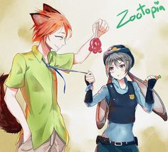 zootopia version anime - Buscar con Google