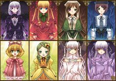 Who is your favorite Rozen Maiden Doll? Shinku is the best for me but every Rozen Maiden Doll has a different character.