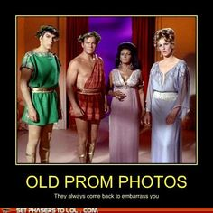 Star Trek Humor: Old Prom Dresses! This was the weirdest episode ever!!!