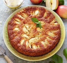 Glutenfri äppelkaka – saftig och god!