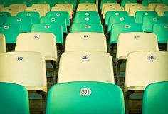 New free stock photo of pattern row chairs via Pexels https://www.pexels.com/photo/audience-auditorium-bleachers-chairs-221487/