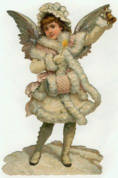 Victorian Angel Clip Art | holiday special edition
