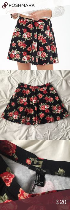 Forever 21 Black Rose Pink Floral Skater Skirt Forever 21 Black Rose Pink Floral Skater Skirt size Medium ----- 🚭 All items are from a non-smoking home. 👆🏻Item is as described, feel free to ask questions. 📦 I am a fast shipper with excellent ratings. 👗I love bundles & bundle discounts. Feel free to make an offer! 😍 Like this item? Check out the rest of my closet! 💖 Thanks for looking! Forever 21 Skirts Circle & Skater