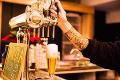 tirando Tipopils  cerveza artesana italiana de Birrificio Italiano