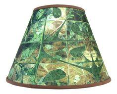Fabric Lamp Shade Lampshade Table Lamp Floor Lamp Fractal Art