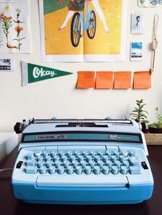 "limitedfocus:  "" My Typewriter (¼)  """