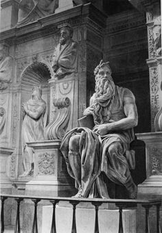 Statue of the Moses by Michelangelo, Rome, Italy