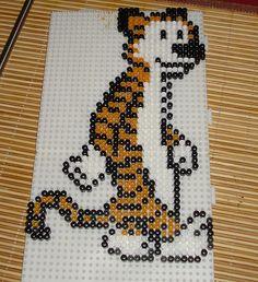 Calvin& Hobbes hama perler beads.
