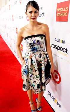 Nina Dobrev attends the 2016 GLSEN Respect Awards - Los Angeles at the Beverly Wilshire Four Seasons Hotel on October 21, 2016 in Beverly Hills, California.