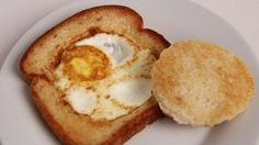 Egg in a Basket Recipe - Laura in the Kitchen - Internet Cooking Show Starring Laura Vitale