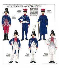 Ufficiali  dei lancieri polacchi del 1 rgt. cavalleggeri della guardia imperiale,  1804-1815