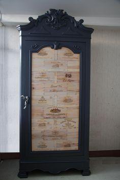 diy comment relooker une armoire ancienne meubles. Black Bedroom Furniture Sets. Home Design Ideas