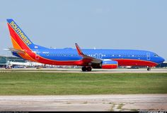 Southwest Airlines N8600F Boeing 737-8H4.