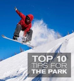 Here are a few tips to keep you park savvy at the resorts. #thisismymountain