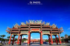 Nankunshen Daitian Temple, located in Beimen District, Tainan ,is ranked as three-star attraction by The Michelin Green Guide Taiwan, 台灣旅遊綠色指南米其林三星級必去寺廟 --台南市北門區「南鯤鯓代天府」
