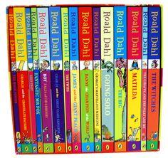 Roald Dahl - on my book list! :)