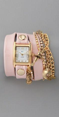 Watch and bracelets       ᘡղbᘡ
