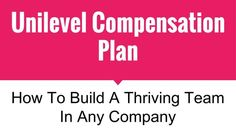 What is the unilevel compensation plan and how can you sponsor 5 to 10 new people every single week? Find out here. The Plan, How To Plan, Top Mlm Companies, Document Sharing, Marketing Plan, Fat, Software, Learning, India