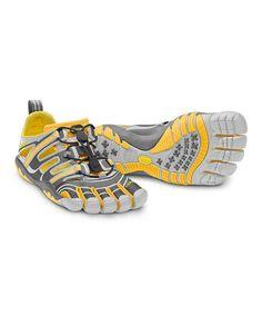 new arrival 28183 3f0a2 greece gray orange treksport sandal men by vibram fivefingers zulilyfinds  270b1 5d9b0