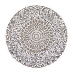 East West Placemat by Kim Seybert   Taupe/White   Set of 4
