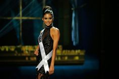 Miss Hawaii USA Moani Anna Marguerite Hara attends the 2014 Miss USA preliminary competition at The Baton Rouge River Center.