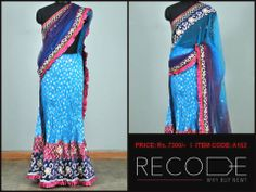 A ready saree.. For those who like it simple! :) www.facebook.com/Fashion.Recode