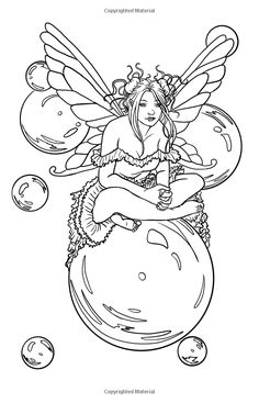 Fairy Coloring Pages Fantasy Coloring Pages Pinterest Fairy