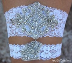 Bridal Garter Set  Toss Garter  Bridal Garter by BridalGoddess, $24.00