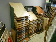 Hardwood Flooring Display Marine Home Center 134 Orange Street Nantucket, MA 02554