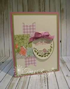 Stampin' Up! That's the Tag stamp set, Timeless Thinlits Dies, Stampin' Studio