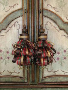 tartan interieur I skótkockák a lakásban
