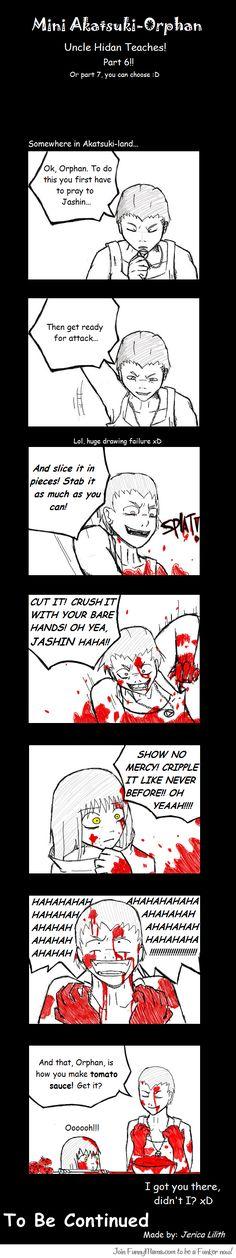 Akatsuki orphan comic- one of my favorites