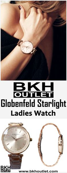 Fabulous Luxury   Our Starlight Ladies Watch has been meticulously sculpted and designed to bring out the best in style and functionality. │woman fashion │watch │ladies watch │beautiful watch │hand clock │hand watch │ladies watch #womanfashion #watch #ladieswatch #beautifulwatch #handclock #handwatch #ladieswatch
