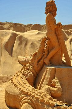(a):Sand Sculptures:The Living World | Flickr - Photo Sharing!