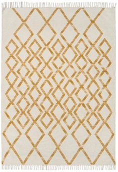 Hackney Kelims Diamond Yellow Rugs - Buy Diamond Yellow Rugs Online from Rugs Direct Stain Remover Carpet, Gold Rug, Carpet Stains, Modern Carpet, Diamond Design, Rugs Online, Modern Room, Rugs On Carpet, Yellow Rugs