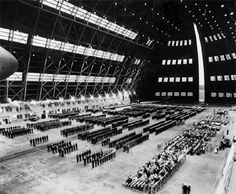 In 1961 the Navy celebrated 50 years of Naval Aviation. In that Autumn, the last operating blimp squadron was disestablished. Navy blimps over New England became a thing of the past. The last vestige of the blimp era at NAS South Weymouth disappeared in 1967 with the demolition of the huge blimp hangar, a landmark at the station since WWII. .