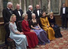 Queen Margrethe visited London,03/12/2014