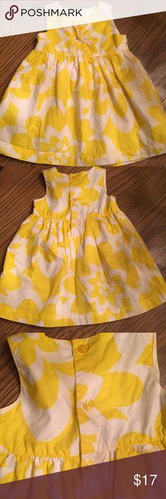 Babygirl Dress Babygirl Flower Designed Dress  Sleeves Carter's Dresses