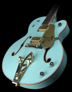 Gretch Blue Falcon....my husband has taught me well. I'm drooling over this. It's gorgeous!