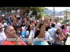 Venezolanos apoyan el barrotazo por la LIBERTAD