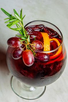 "Molto Italiano Sangria.  Scroll to the end of link for an interesting diagram from Wine Enthusiast called ""The Anatomy of Sangria."""