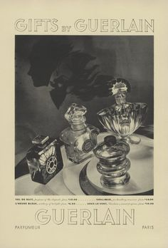 Guerlain Perfume Print Ad 1935 Shalimar Vol de Nuit L'Heure Bleue Versace Perfume, Perfume Ad, Cosmetics & Perfume, Vintage Perfume, Vintage Ads, Vintage Posters, Sous Le Vent, Vanitas Vanitatum, Lacing Shoes For Running