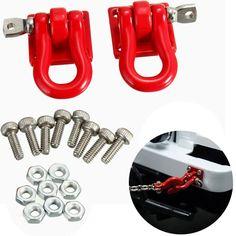 1 Paire 1/10 Remorque Crochet Échelle 1:10 Accessoire Pour RC Crawler SCX-10 Camion Pour Rc Pièces De Voiture