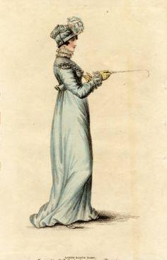 Riding habit, Autumn 1815 :: Fashion Plate Collection, 19th Century