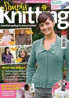Ravelry: Simply Knitting 52, April 2009