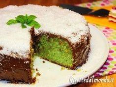 Torta Menta Cocco e Nutella