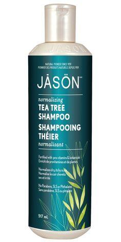 Buy Jason Tea Tree Scalp Normalizing Shampoo 517 mL Online in Canada | FREE Ship $29+