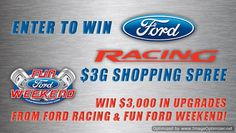 USA only ~ Sweepstakes ~ Win $3000 In #Ford Racing Merchandise ~   http://www.linkiescontestlinkies.com/2013/04/sweepstakes-win-3000-in-ford-racing.html