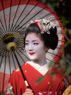 Beautiful Japanese Traditional Geisha Girl, T.