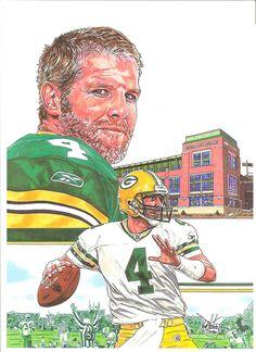 Brett Favre by coachp42